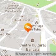 Map Purple Nest Hostel Valencia, Spain