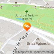 Map Acta Del Carmen Valencia, Spain