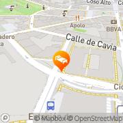 Map Sercotel Aparthotel Huesca Huesca, Spain