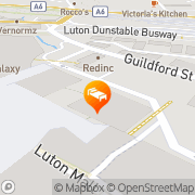 Map Best Western Menzies Strathmore Luton, United Kingdom
