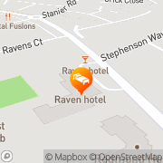 Map The Raven Hotel Corby, United Kingdom