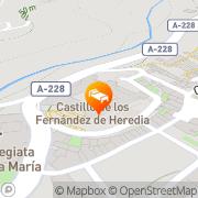 Map Jaime I Mora de Rubielos, Spain