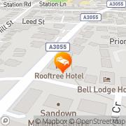 Map Beaufort House Sandown, United Kingdom