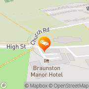 Map Braunston Manor Braunston, United Kingdom