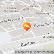 Carte de Park & Suites Elégance Nantes-Carré Bouffay Nantes, France