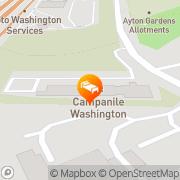 Map Campanile Hotel - Washington Washington, United Kingdom
