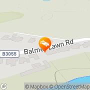 Map Balmer Lawn Brockenhurst, United Kingdom