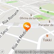 Map Hotel Garcia Ramirez Olite, Spain