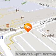 Map Novotel Birmingham Airport Birmingham, United Kingdom
