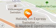Map Holiday Inn Express Swindon - West Swindon, United Kingdom