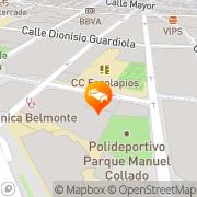 Map Sercotel San Jose Albacete, Spain