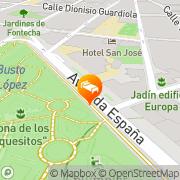 Map Sercotel Los Llanos Albacete, Spain