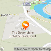 Map The Devonshire Fell Hotel Burnsall, United Kingdom