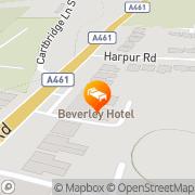 Map Beverley Hotel Walsall, United Kingdom