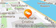 Map Hotel Maria Cristina, a Luxury Collection Hotel, San Sebastian Donostia, Spain