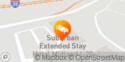 Map Suburban Extended Stay Hotel Midland, United States