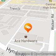 Map Rodeway Inn - Closed Cheyenne, United States