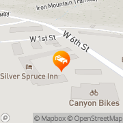 Map Silver Spruce Motel Glenwood Springs, United States