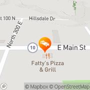 Map Village Inn Motels Castle Dale, United States