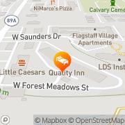 Map Quality Inn I-40 & I-17 Flagstaff, United States