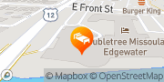 Map DoubleTree by Hilton Hotel Missoula - Edgewater Missoula, United States
