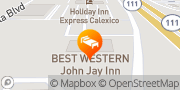 Map Best Western John Jay Inn Calexico, United States
