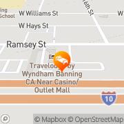 Map Quality Inn Banning I-10 - Closed Banning, United States