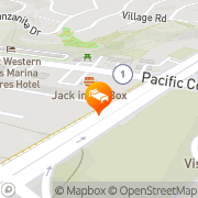Map Dana Point Harbor Inn Dana Point, United States