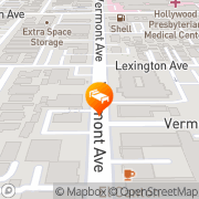 Map Hollywood Hotel - The Hotel Of Hollywood Los Angeles, United States