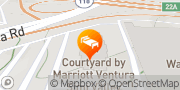 Map Courtyard by Marriott Ventura Simi Valley Simi Valley, United States