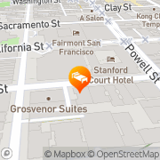 Map InterContinental Mark Hopkins San Francisco San Francisco, United States