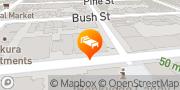 Map Kimpton Buchanan Hotel San Francisco, United States