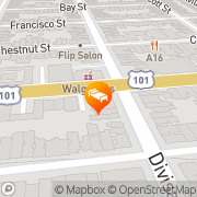 Map Econo Lodge San Francisco San Francisco, United States