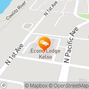 Map Econo Lodge - Closed Kelso, United States