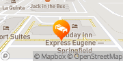 Map Holiday Inn Express Eugene - Springfield Springfield, United States
