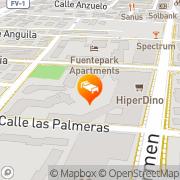 Map Brisamar Corralejo, Spain