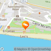 Map Apartamentos Igramar MorroJable Morro del Jable, Spain