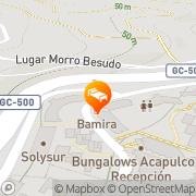 Map Marinasol San Agustín, Spain