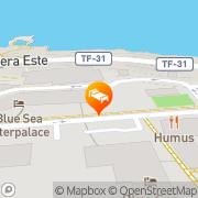 Map Hotasa Interpalace Puerto de la Cruz, Spain