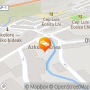 Map Azkoaga Enea Eskoriatza, Spain