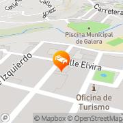 Map El Rincón De Galera Galera, Spain