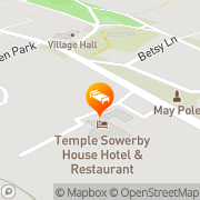 Map Temple Sowerby House Hotel Penrith, United Kingdom