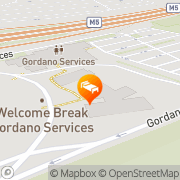 Map Days Inn Bristol Hotel Gordano Portbury, United Kingdom