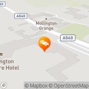 Map Brook Mollington Banastre Hotel & Spa Chester, United Kingdom