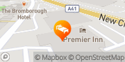 Map Premier Inn Wirral Bromborough Wirral, United Kingdom