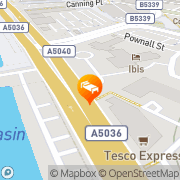 Map Ibis Liverpool City Centre Liverpool, United Kingdom