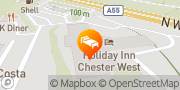 Map Holiday Inn A55 Chester West Chester, United Kingdom