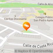 Map Hotel Pax Chi Guadalajara, Spain