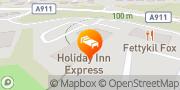 Map Holiday Inn Express Glenrothes Glenrothes, United Kingdom