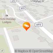 Map Shocarjen House B & B Perth, United Kingdom